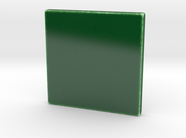 Translucent Selfie Series Tile 4x4 in Gloss Oribe Green Porcelain