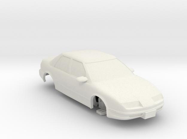 HO Slot Car 1992 Saturn SL2 - unibody chassis