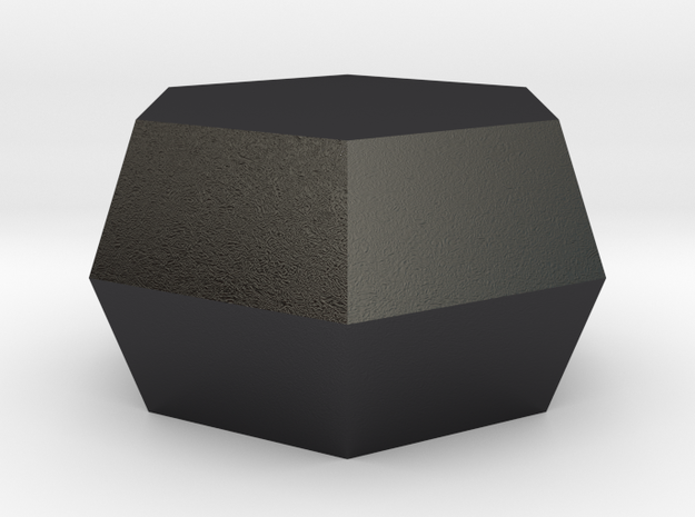Graphite in Polished and Bronzed Black Steel