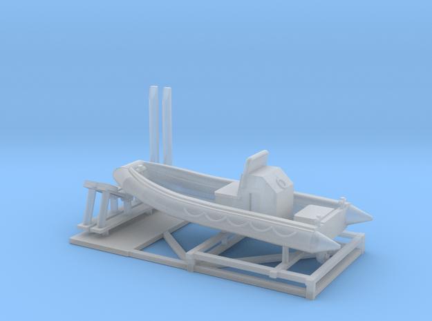 1/200 scale 23ft RHIB boat
