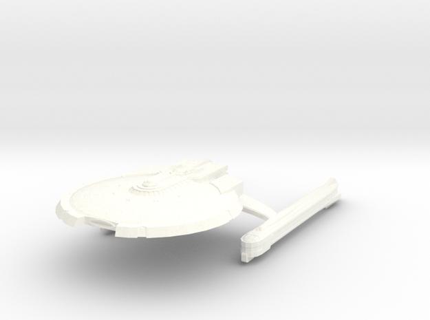7k Trek Sagittarius in White Processed Versatile Plastic