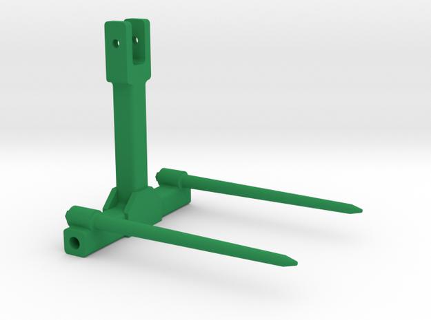 Ballengabel Ballenspieß 1:32 in Green Processed Versatile Plastic