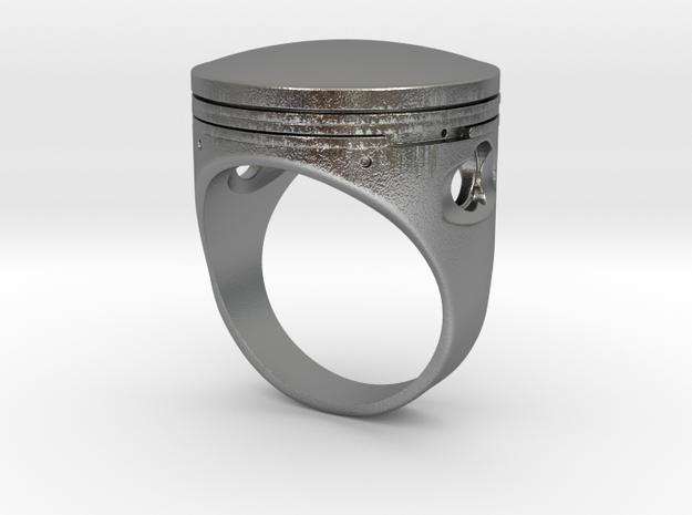 Piston in Natural Silver