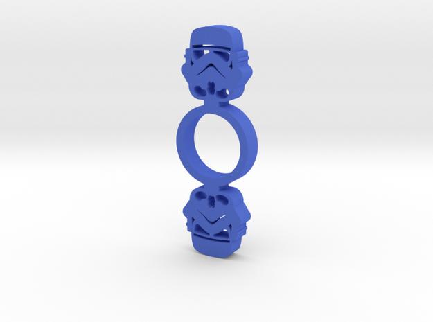 Storm Trooper Fidget Spinner in Blue Processed Versatile Plastic