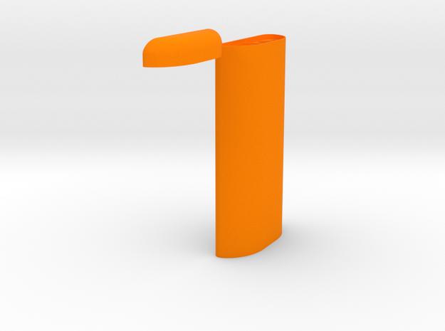 V4dugout in Orange Strong & Flexible Polished