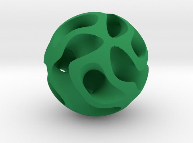 Orb Five in Green Processed Versatile Plastic