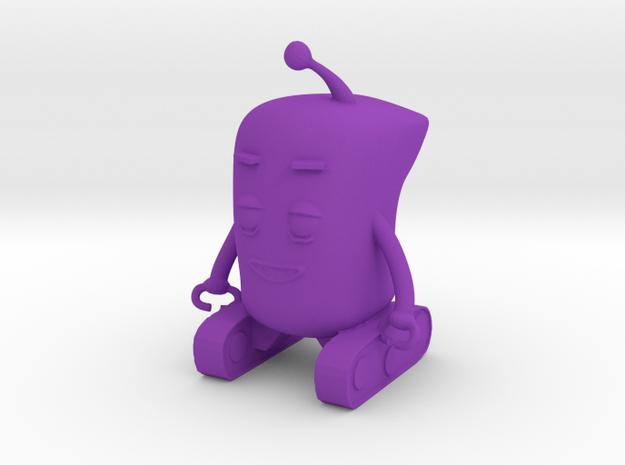 Baby Robot in Purple Processed Versatile Plastic