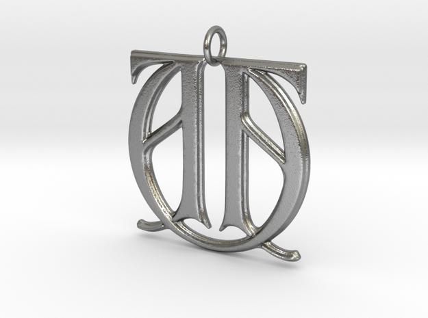 Monogram Initials AAU Pendant