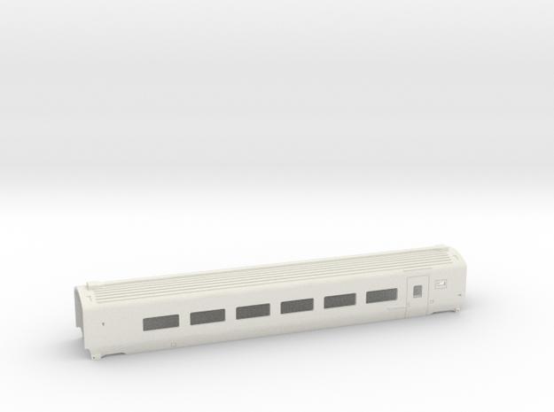 Caisse Eurostar Intermédiaire HO in White Strong & Flexible