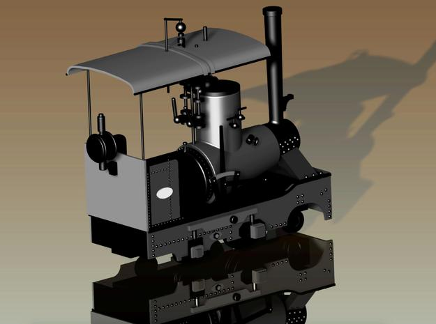 Hohenzollern Works Scale H0f in Smooth Fine Detail Plastic
