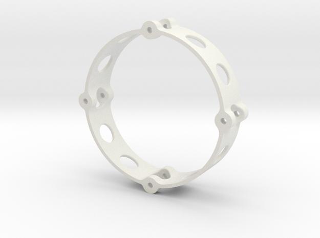 Inner Wheel Ring 1.9  in White Natural Versatile Plastic