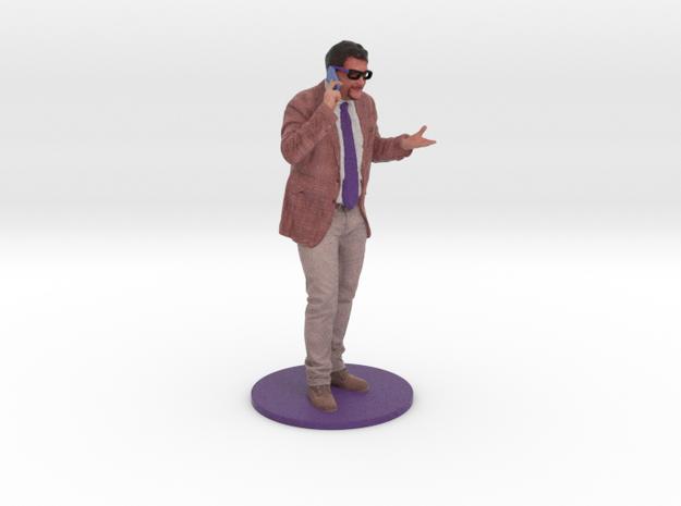 Texel Portal Figurine Sample Italian man in Full Color Sandstone: Medium