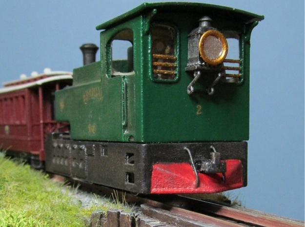 00n3 Clogher Valley tram engine