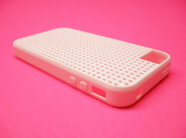 Somi for iPhone 4/4s, a case you can cross stitch  3d printed Somi 4s case