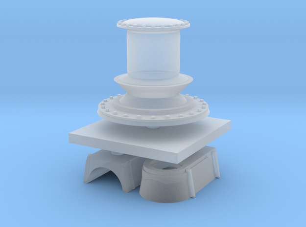 1:72 Navy Capstan in Smooth Fine Detail Plastic