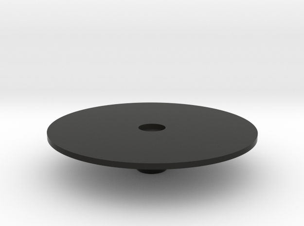 Large round table in Black Strong & Flexible