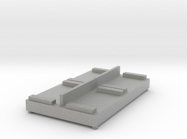 Large sofa in Metallic Plastic
