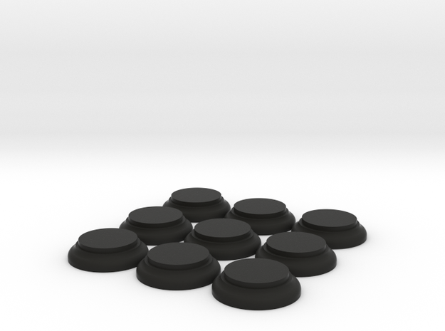 9off Dome Bases Large in Black Natural Versatile Plastic