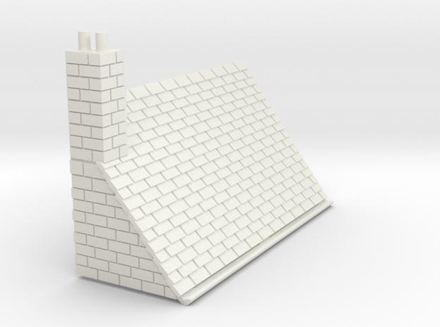 Z-87-lr-stone-l2r-level-roof-lc-rj in White Natural Versatile Plastic