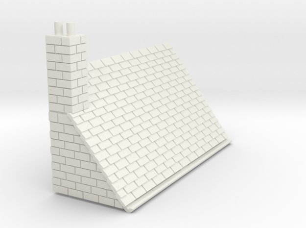 Z-87-lr-stone-l2r-level-roof-lc-nj in White Natural Versatile Plastic