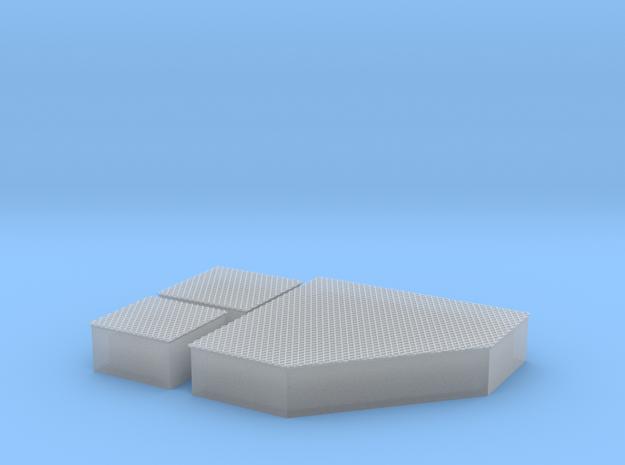 Blechkanal Ablenkung Form I II IV 1zu22 in Smooth Fine Detail Plastic