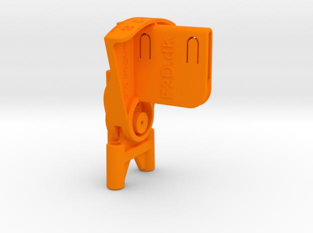 Klap-O-Meter - 2 Sticks in Orange Processed Versatile Plastic