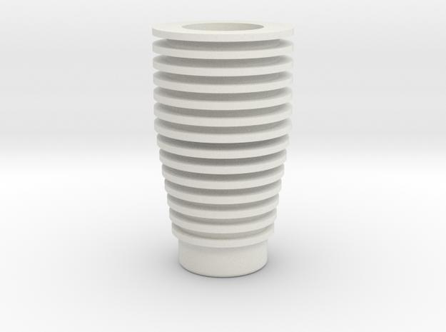 Comlink Body in White Natural Versatile Plastic