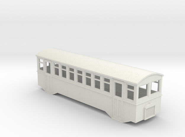 HOe bogie railcar