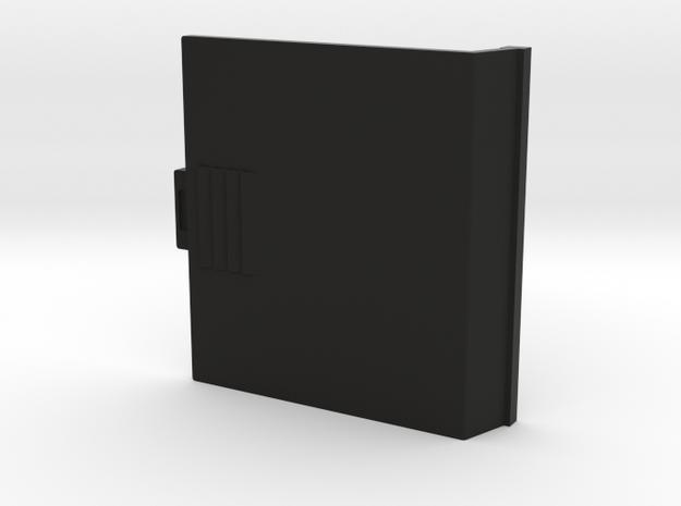 HP-71B Battery Door in Black Natural Versatile Plastic