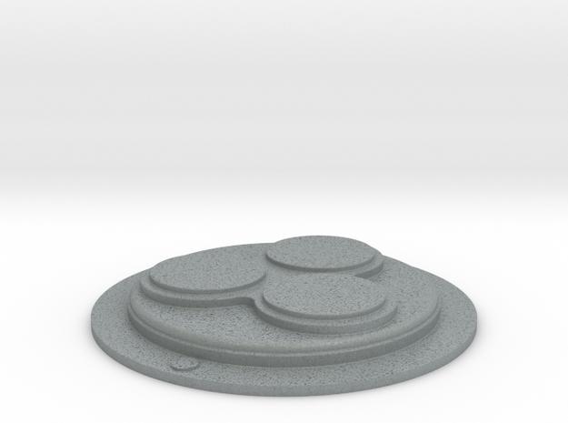 Snowtrooper Abdomen Disk in Polished Metallic Plastic