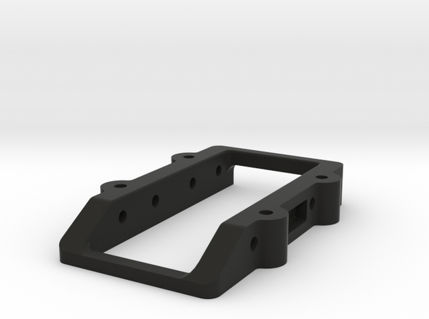 CRC WTF-1 Shorty Servo Mount in Black Natural Versatile Plastic