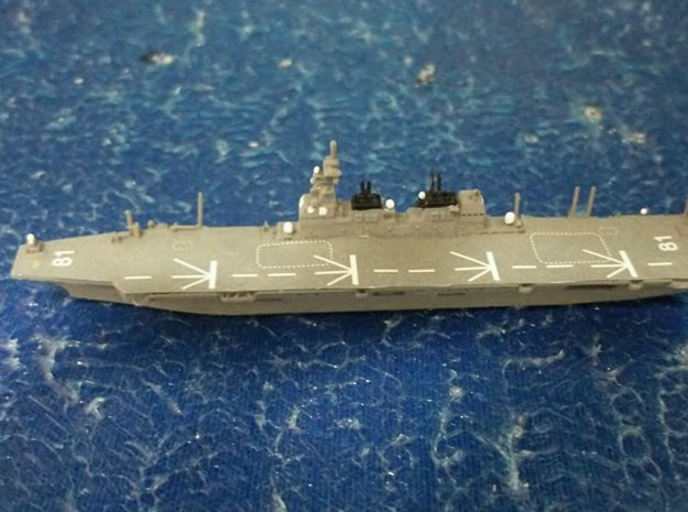 1/2000 JS Hyūga-class helicopter destroyer in Smooth Fine Detail Plastic