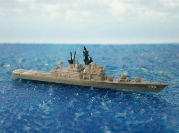 1/2000 JS Shirane-class Helicopter destroyer in Smooth Fine Detail Plastic