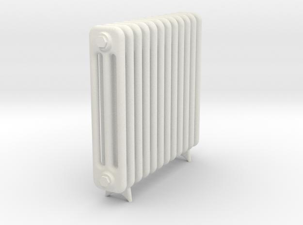 Radiator 12 Rippen mit Fuss in White Natural Versatile Plastic