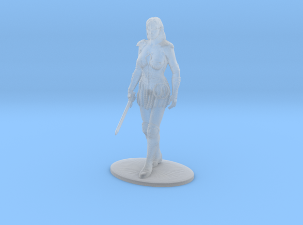Xena Miniature in Frosted Extreme Detail: 1:60.96