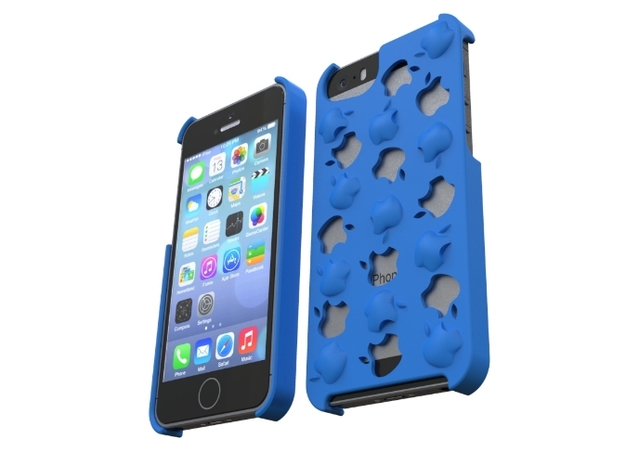 iPhone 5/5S Casing - AppleApple 3d printed