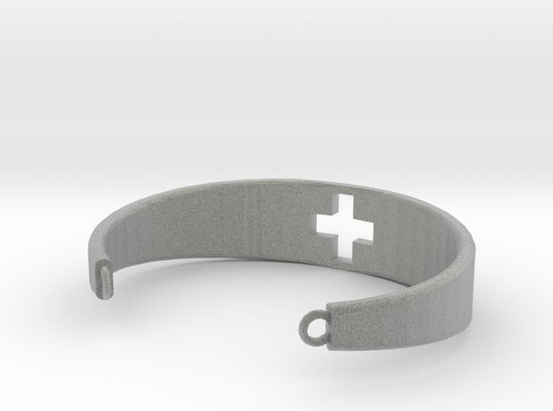 手環.stl in Metallic Plastic