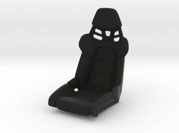 Race Seat P-RS-991-Type - 1/10 in Black Strong & Flexible