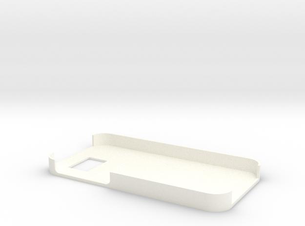 Phone case in White Processed Versatile Plastic