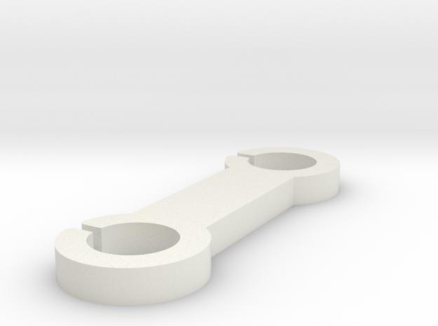 Super Practical Reel in White Natural Versatile Plastic