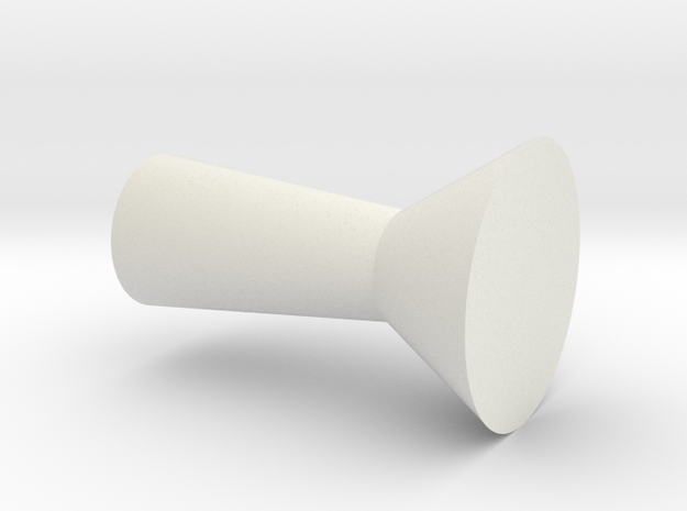 Juicer cup in White Strong & Flexible