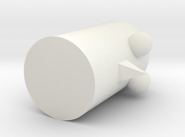 Niaoker in White Strong & Flexible