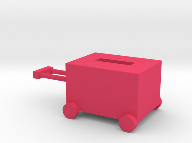 Luggage box in Pink Strong & Flexible Polished