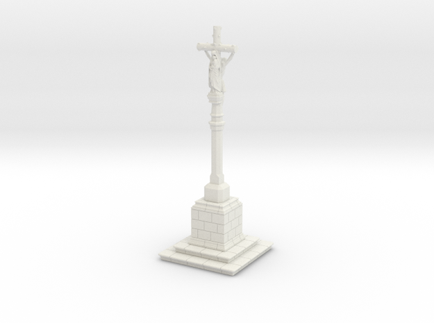 ORelCal02 - Calvary of Brittany in White Natural Versatile Plastic