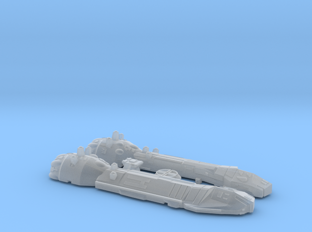 1/2256 Lancer Frigate in Frosted Ultra Detail