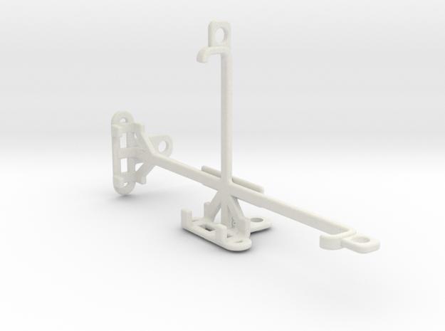 QMobile Linq L10 tripod & stabilizer mount in White Natural Versatile Plastic