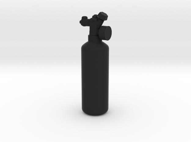 NOS Bottle - 1/10 in Black Natural Versatile Plastic