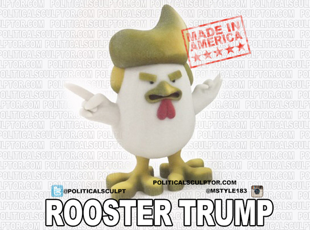 China's Donald Trump Rooster