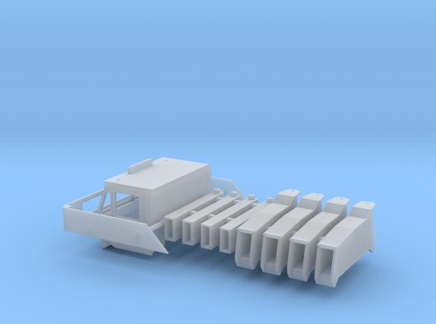 Amk200-83 1-87 Under Carrier Part in Smooth Fine Detail Plastic