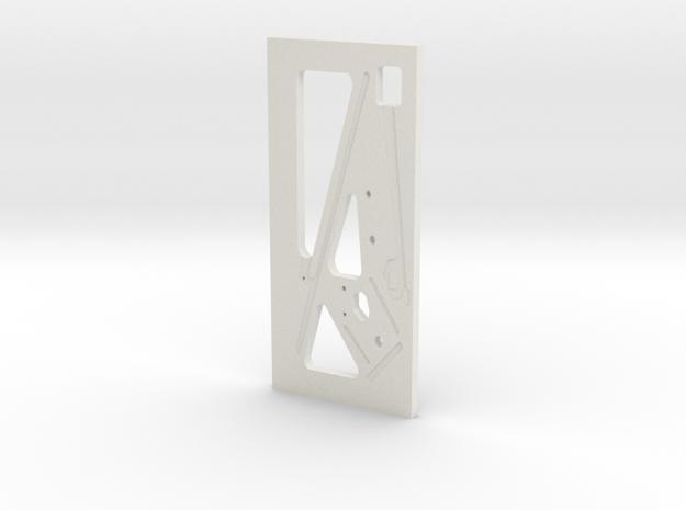 Henry J inner door panel 1/25 in White Natural Versatile Plastic